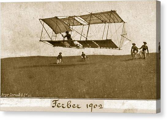 Ferbers Glider Canvas Print by Hulton Archive