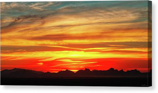 Canvas Print featuring the photograph Final Glimpses by Rick Furmanek