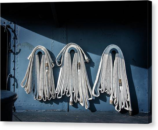 Fire Hoses Canvas Print