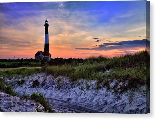 Fire Island Lighthouse Canvas Print