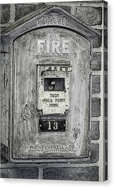 Firebox Canvas Print