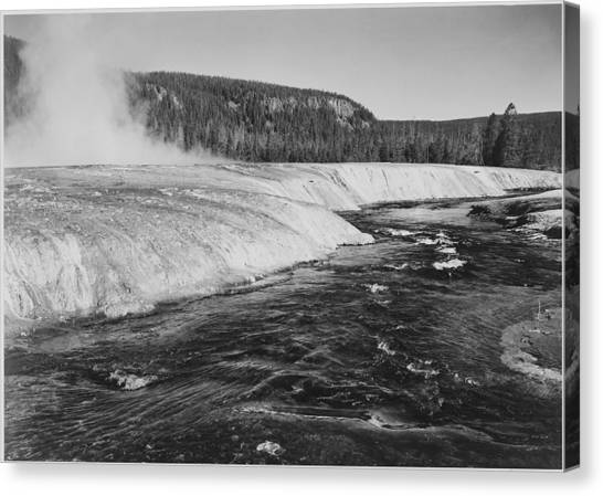 Firehole River, Yellowstone National Canvas Print by Buyenlarge