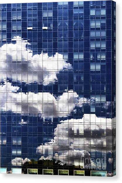 Canvas Print featuring the photograph First Avenue Reflections by Rick Locke