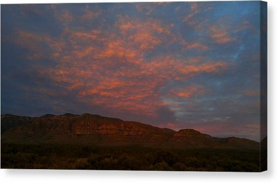 First Light Over Texas 3 Canvas Print