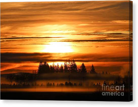 Canvas Print - First Sunrise by Nick Gustafson