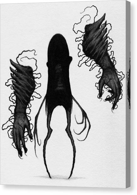 Firstborn Of The Orphan Wing - Artwork Canvas Print