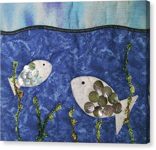 Fishy Fishy Canvas Print