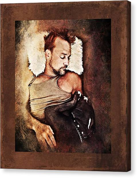 Flanery And Tex Canvas Print