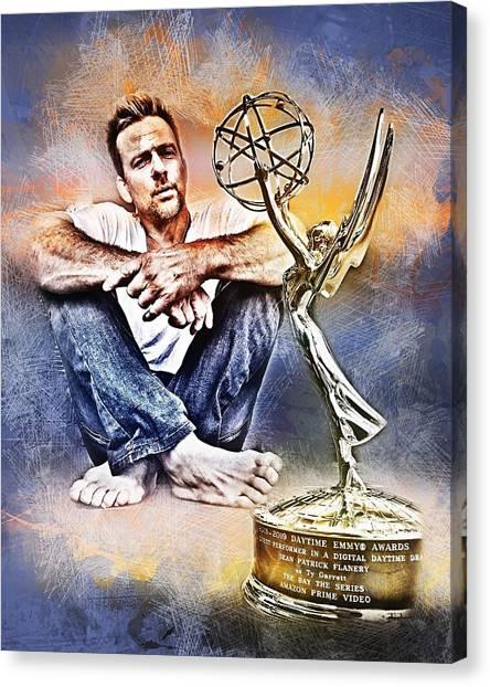 Flanery Won Emmy Canvas Print