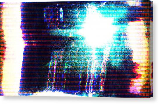 Canvas Print featuring the photograph Flashlight by Bee-Bee Deigner