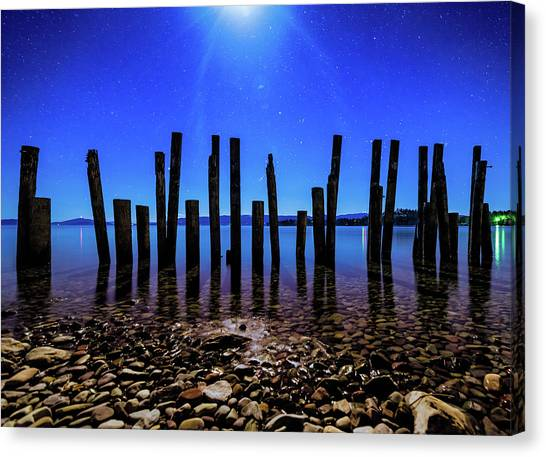 Flathead Lake Canvas Print