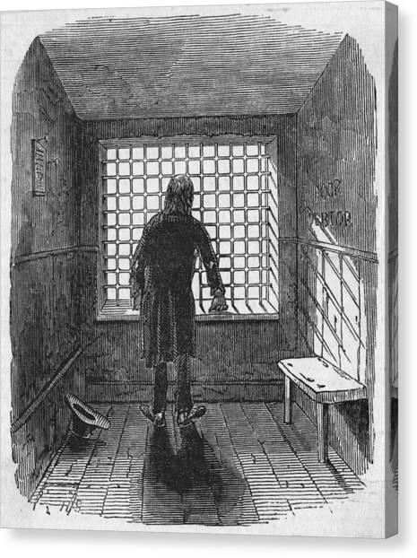 Fleet Prison Canvas Print by Hulton Archive