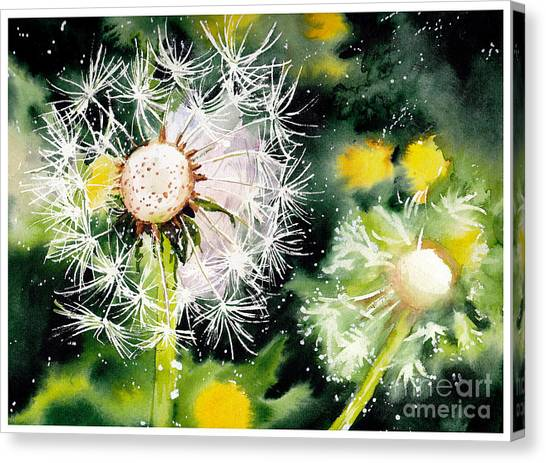 Cosmos Flower Canvas Print - Fleeting Moment by Suzann's Art