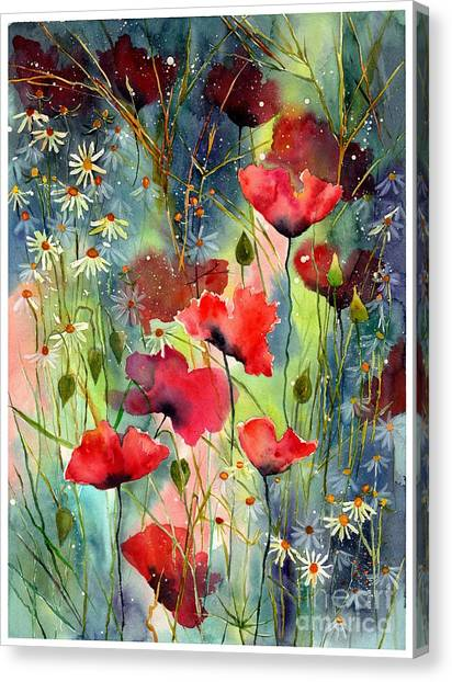 Kentucky Canvas Print - Floral Abracadabra by Suzann Sines