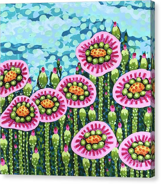 Floral Whimsy 8 Canvas Print