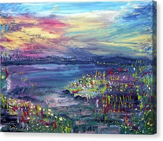 Flower Feilds Canvas Print