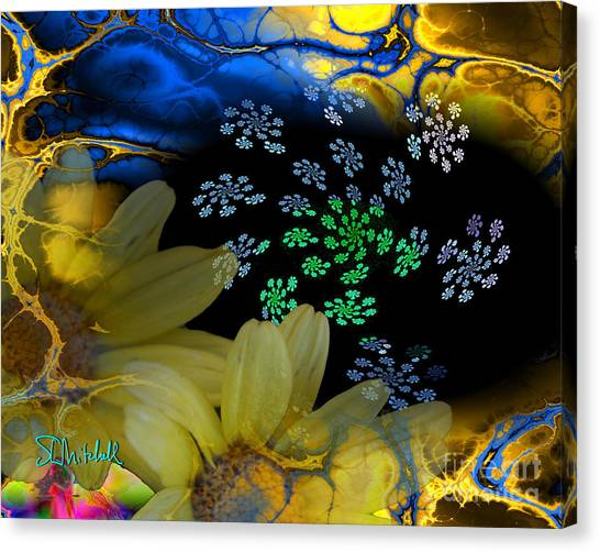 Flower Power In The Modern Age Canvas Print