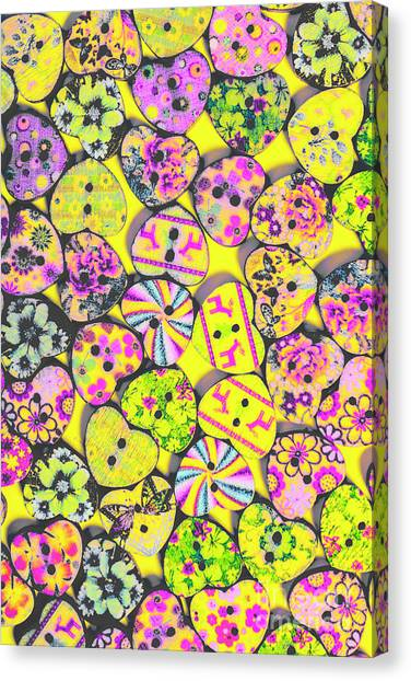Style Canvas Print - Flower Power Patterns by Jorgo Photography - Wall Art Gallery