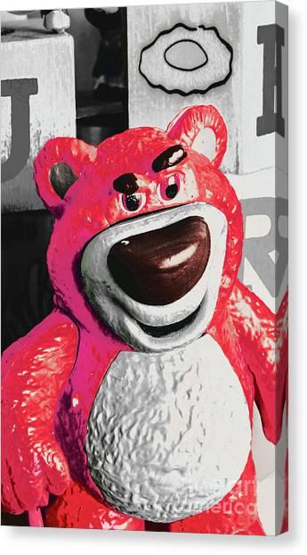 Teddy Bears Canvas Print - Fluffy Fantasy Bear by Jorgo Photography - Wall Art Gallery