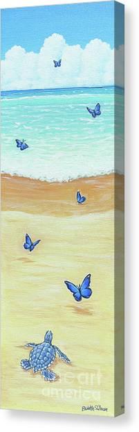 Follow The Butterflies Canvas Print