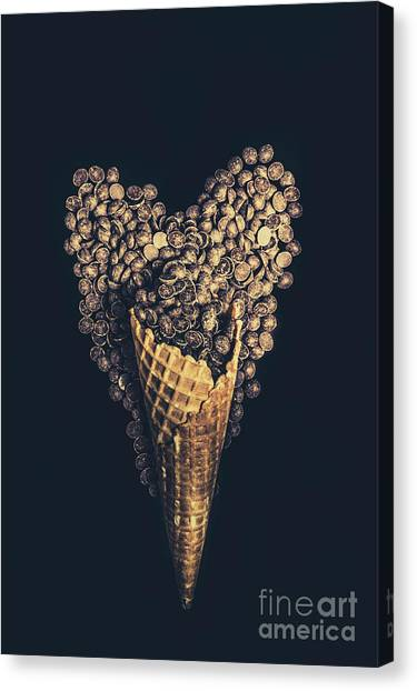 Heart Shape Canvas Print - For A Sweetheart by Jorgo Photography - Wall Art Gallery