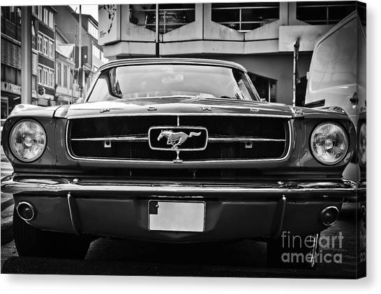 Ford Mustang Vintage 1 Canvas Print