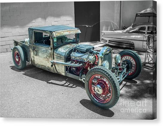 Ford Rat Rod Canvas Print