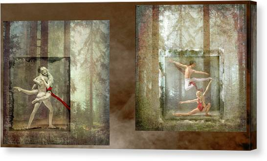 Forest Dancers Canvas Print