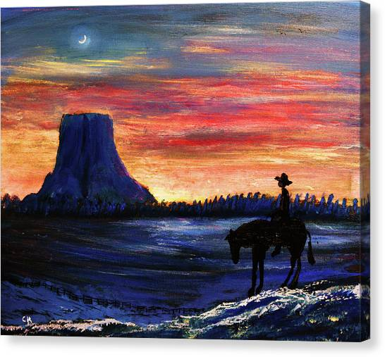 Forever West Canvas Print