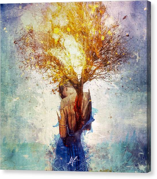 Mercy Canvas Print - Forgiveness by Mario Sanchez Nevado