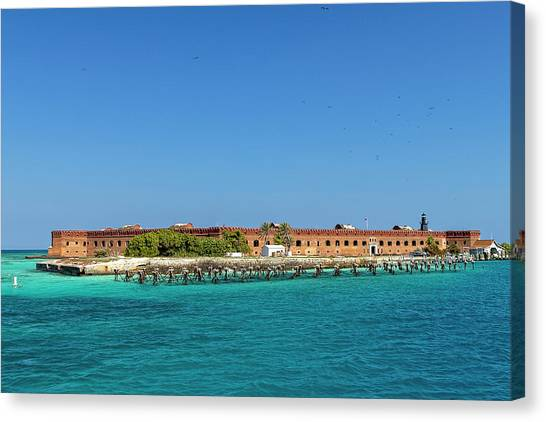 Fort Jefferson, Dry Tortugas National Park Canvas Print