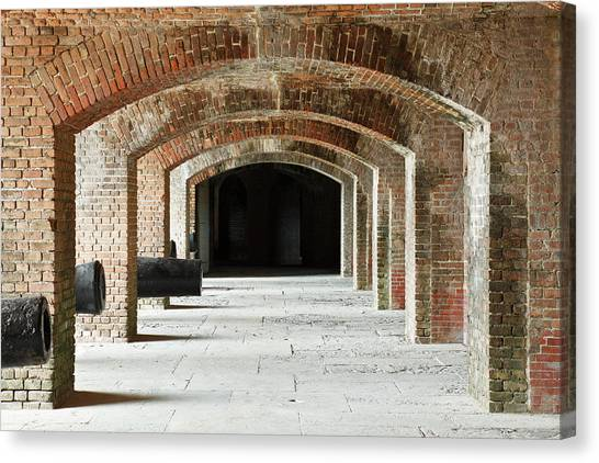 U. S. Presidents Canvas Print - Fort Zachary Taylor by S. Greg Panosian