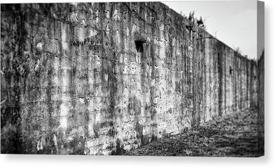 Canvas Print featuring the photograph Fortification by Steve Stanger