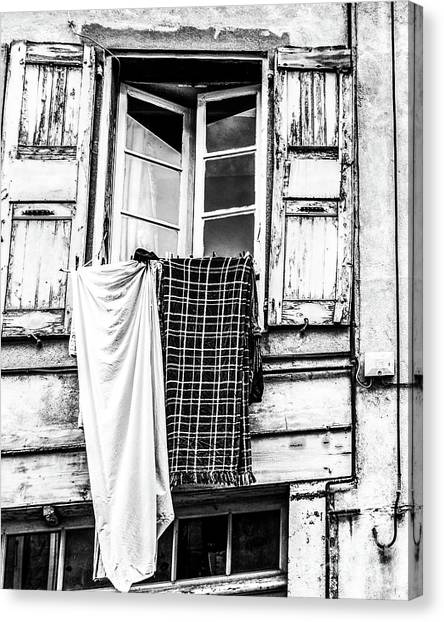 Franch Laundry Canvas Print