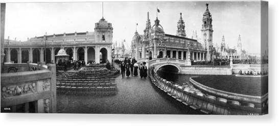 Franco-british Fair Canvas Print by London Stereoscopic Company