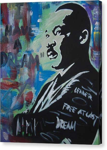 Free At Last  Canvas Print