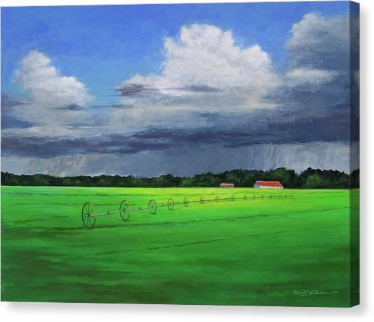 Free Rain Canvas Print