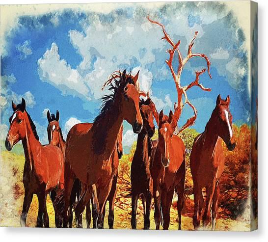 Free Spirits Canvas Print