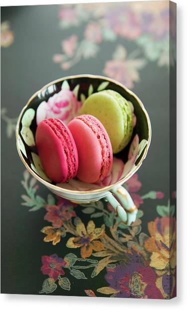 French Macaron Canvas Print