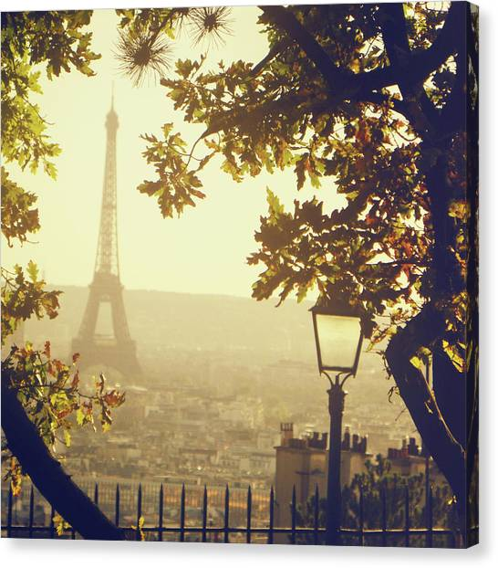 France Canvas Print - French Romance by By Smaranda Madalina Cheregi