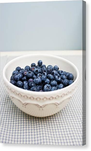 Fresh Bowl Of Organic And Ripe Canvas Print