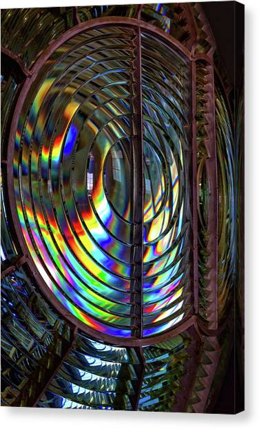 Fresnel Lens Point Arena Lighthouse Canvas Print