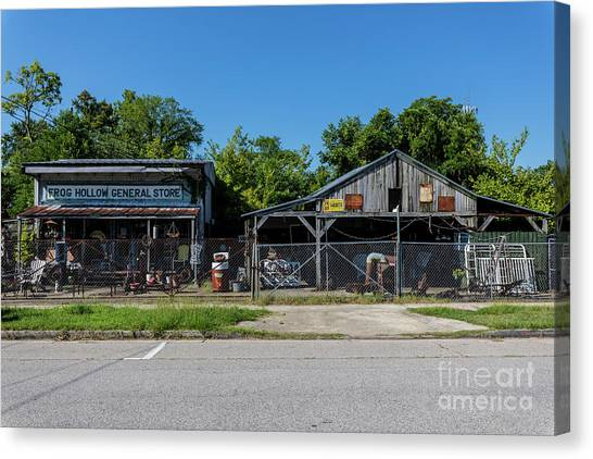 Frog Hollow General Store - Augusta Ga Canvas Print