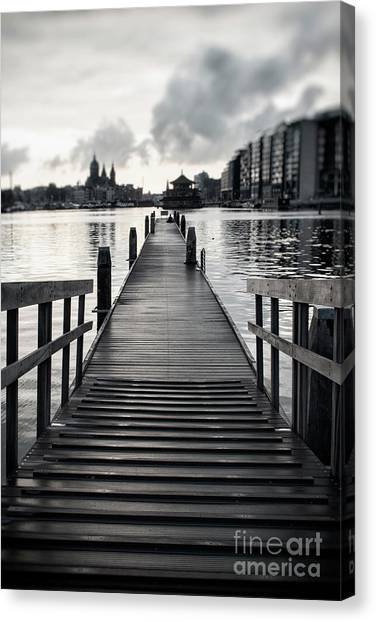 From The Solid Ground... Canvas Print