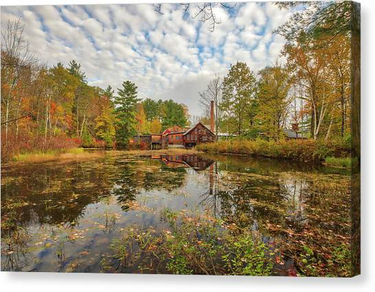 Canvas Print featuring the photograph Fryes Measure Mill by Juergen Roth