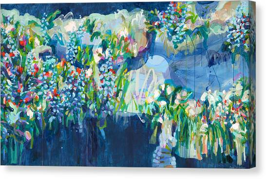 Canvas Print - Full Bloom by Claire Desjardins