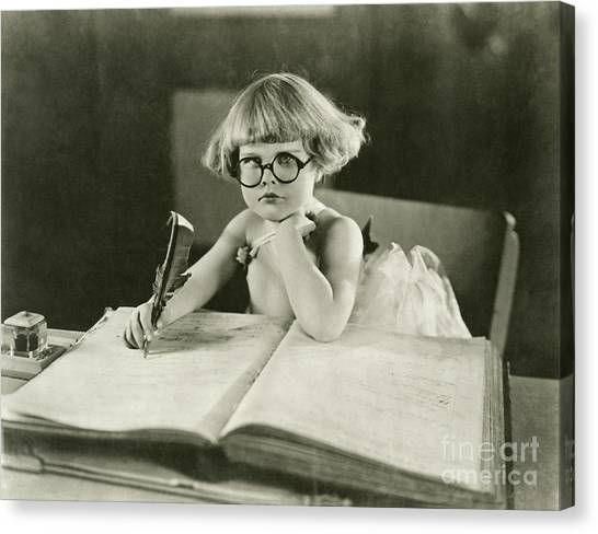 Indoors Canvas Print - Future Writer by Everett Collection