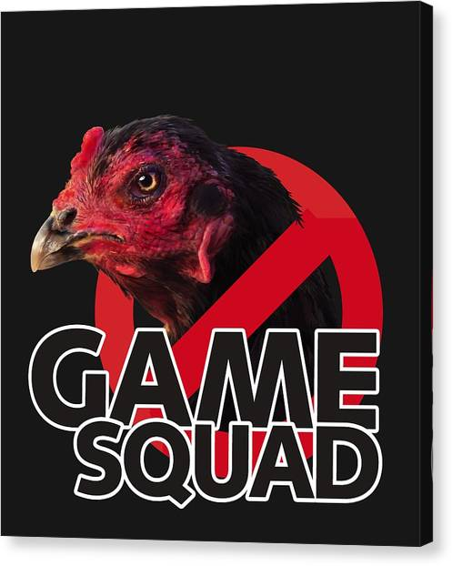 Game Squad Canvas Print