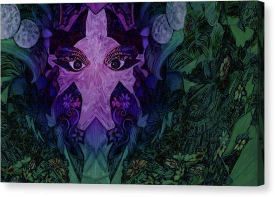 Garden Eyes Canvas Print