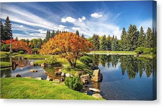 Garden Splendour Canvas Print